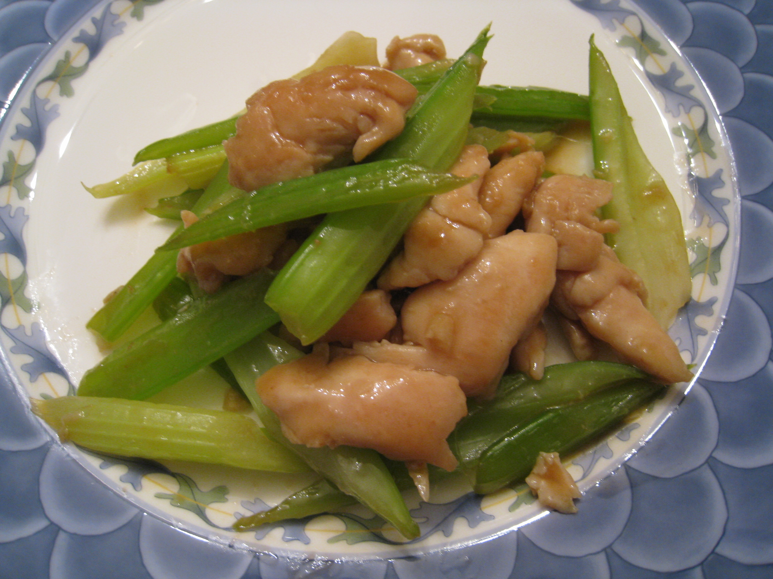 Stir Fried Chinese Chicken With Celery Chinese Chicken Recipes For Busy People