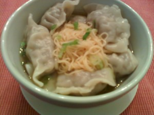 Dumplings in Soup