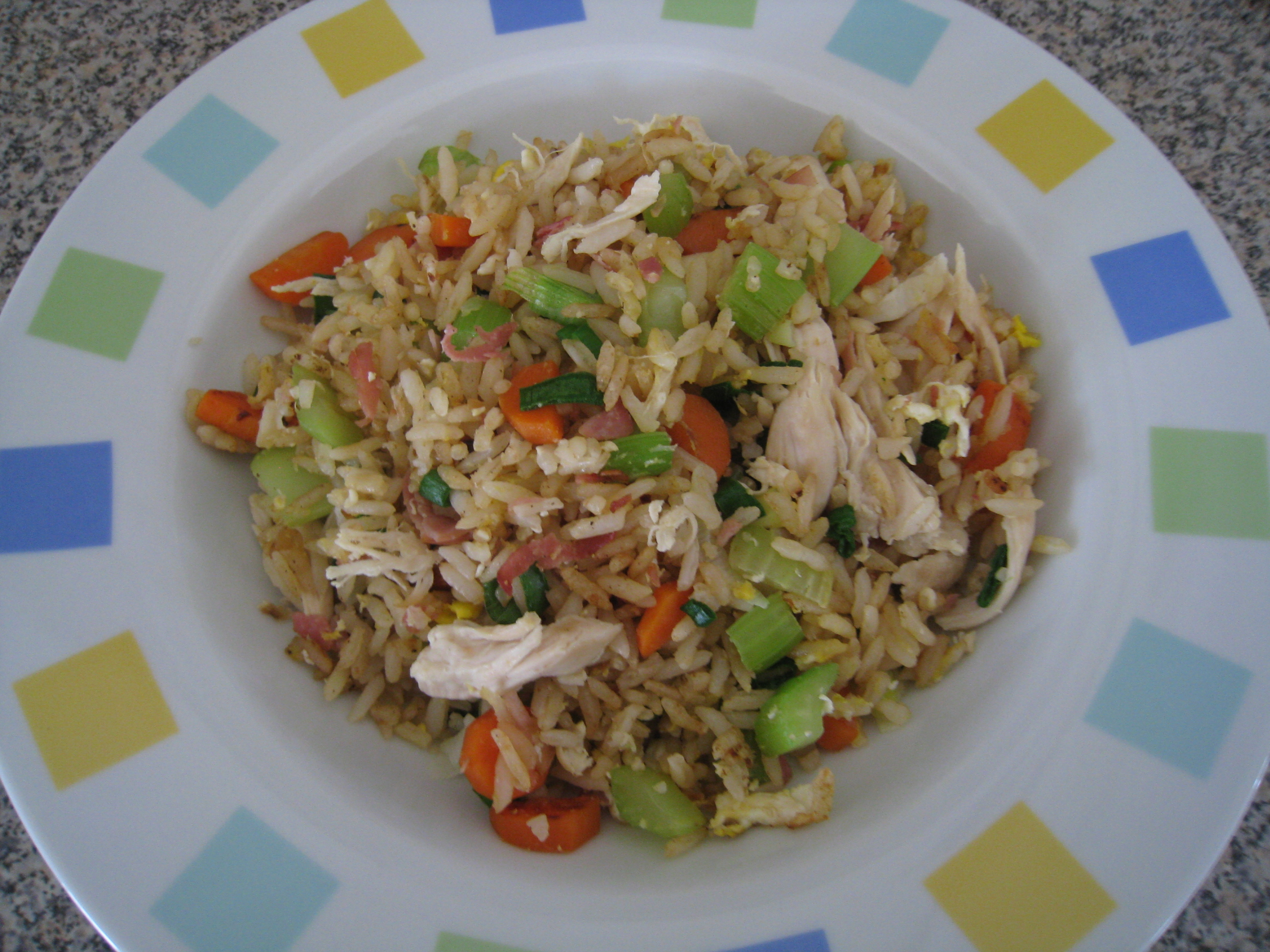 how to cook basic fried rice