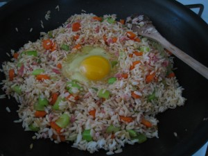 Add An Egg to Fried Rice