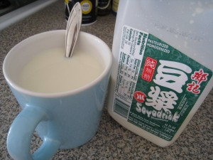Soy Milk, my favorite drink
