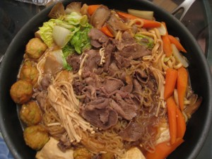 Beef Sukiyaki with Shirataki Miracle Noodles