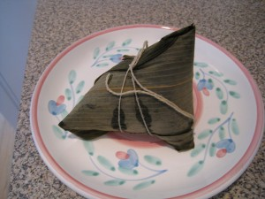 Funky looking Zongzi
